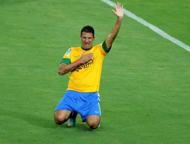 Washington gol reabertura Maracanã (Foto: André Durão / Globoesporte.com)