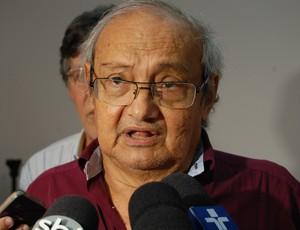 Petrônio Gadelha, ex-presidente do Treze (Foto: Silas Batista / GloboEsporte.com)