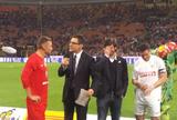 Crespo e Eto'o se destacam em jogo beneficente organizado por Zanetti