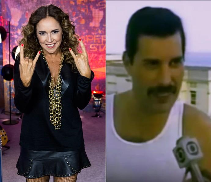 Daniela Mercury conta que as pessoas pronunciavam seu sobrenome de forma errada (Foto: Ellen Soares/Gshow e TV Globo)