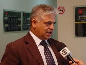 Secretário de Segurança da Paraíba, Cláudio Lima (Foto: Jhonathan Oliveira/G1)