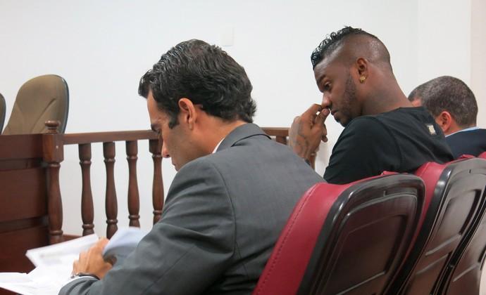 Felipe Flamengo Julgamento STJD (Foto: Edgar Maciel de Sá)