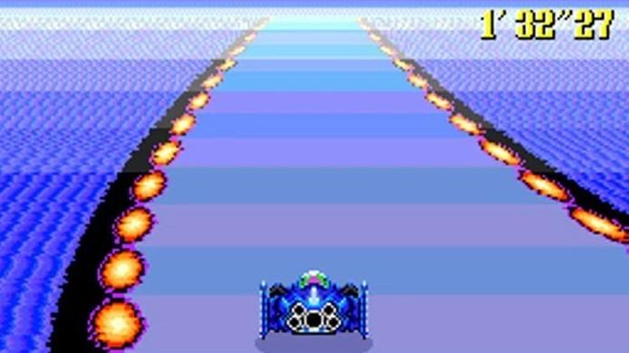 F-Zero trazia alta velocidade em uma corrida futurista do Super Nintendo (Foto: Reprodução/Retro Gaming Magazine)