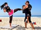 Priscila Pires perde 30 quilos com muay thai e nega abdominoplastia