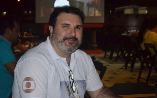 Joel Gomes (gerente comercial da TV Roraima) (Foto: Bruna Alves/G1)