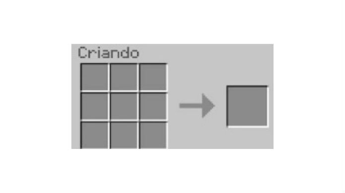 Minecraft: coloque os ingredientes na grade de quadrados à esquerda (Foto: Reprodução / Thomas Schulze)