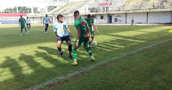 Sparta empata em 1 a 1 com o Tocantinópolis  (Foto: Lucas Ferreira/ TV Anhanguera)