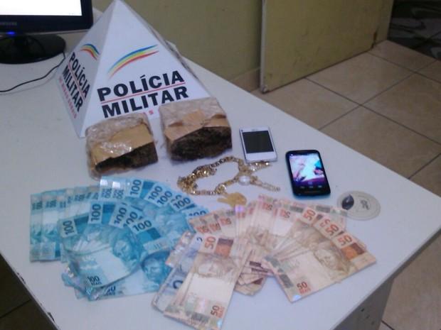 Drogas (Foto: Polícia Militar)