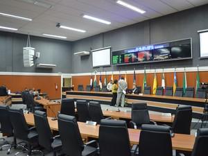 Assembleia Legislativa de Roraima (Foto: Emily Costa/G1)