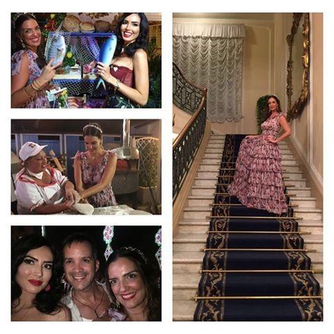 Luciana Cardoso mostra momentos na Itália com amigos (Foto: Reprodução/Instagram)