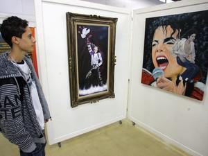 Exposição é composta por  35 obras (Foto: Fernado Araujo/ SECOI)