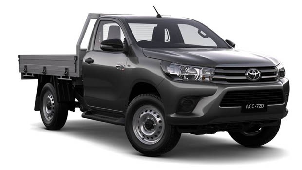 Nova Toyota Hilux Chassi-Cabine 2016 (Foto: Divulgação)