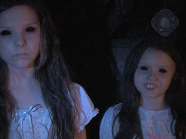 Cena de 'Atividade paranormal: Marcados pelo mal' (Foto: Divulgação)