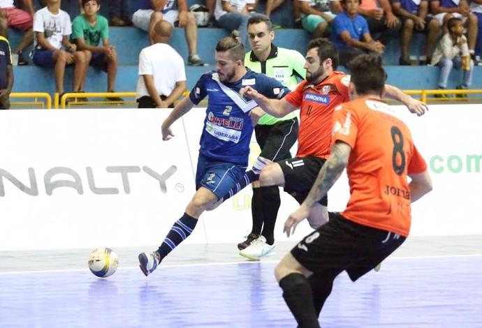 Orlândia Carlos Barbosa final liga nacional de futsal (Foto: Márcio Damião/Divulgação)