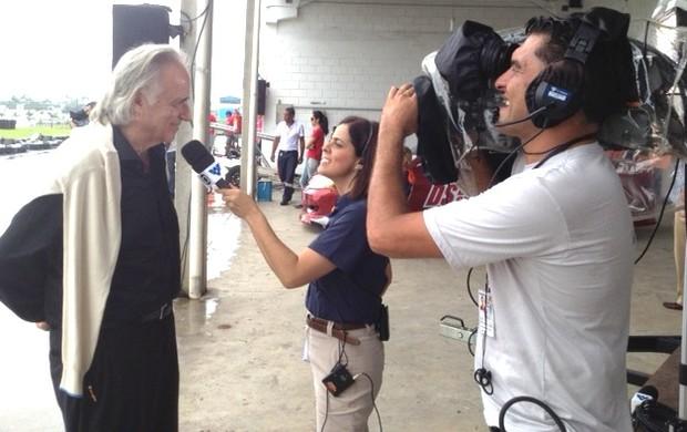 Maestro João Carlos Martins (Foto: Eduardo Silva / TV Tribuna)