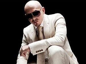 Rapper Pitbull faz show no Recife (Foto: Divulgação)