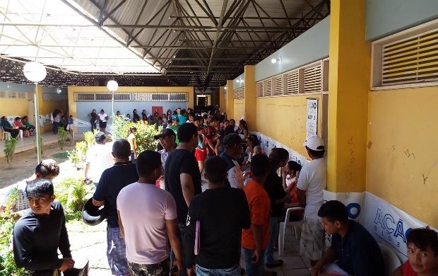 Evento ocorreu neste sábado (21) (Foto: Bruna Cássia/Rede Amazônica)