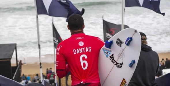 Wiggolly Dantas mostrou que est no Tour para ficar (Foto: WSL)