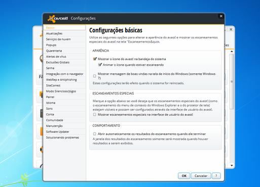 screenshot de avast! Free Antivirus
