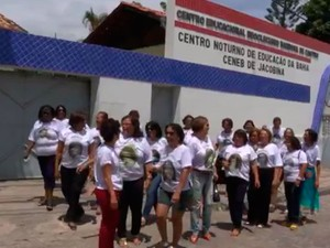 Grupo de 30 ex-alunos se reencontrou após 47 anos (Foto: Reprodução/TV Norte)