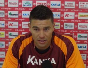 Glaydson Almeida reconhece que duelo com o Salgueiro será uma verdadeira guerra (Foto: Denison Roma/GloboEsporte.com)