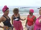 Dupla na BA cria biquínis e maiôs para mulheres que retiraram as mamas