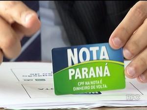 'Nota Paraná' vai reembolsar até 30% do ICMS pago pelos consumidores (Foto: Reprodução/ RPC)