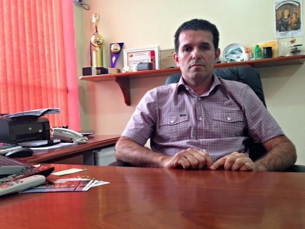Empresário Jarbas Soster diz que grupo de policiais militares cobrava para fazer a segurança do posto de combustíveis (Foto: G1)