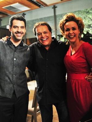 Dennis Carvalho grava participação em Sangue Bom (Foto: Sangue Bom/TV Globo)