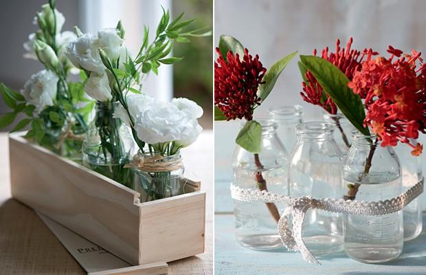 arranjos-flores-brancas-flores-vermelhas (Foto: Casa e Jardim)