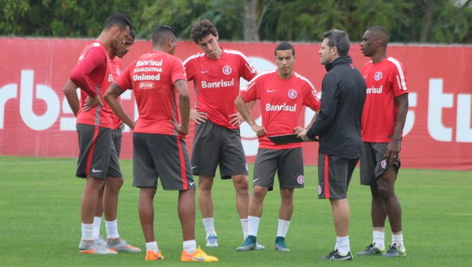 Treino do Inter no CT do Parque Gigante (Foto: Eduardo Deconto / GloboEsporte.com)