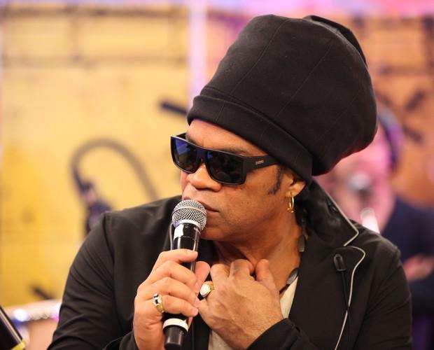 Talento de Romero Ribeiro é tema de conversa no The Voice Web (Foto: Isabella Pinheiro/Gshow)