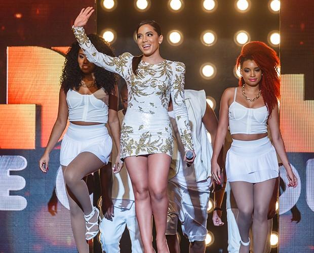 """Anitta fica em oitavo lugar com """"Blá Blá Blá"""" (Foto: Artur Meninea / Gshow)"""