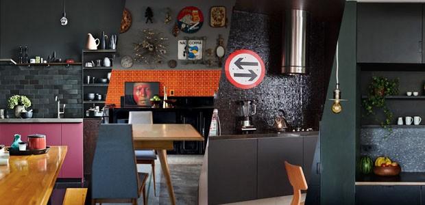 12 cozinhas pretas e elegantes (Foto: Divulgação)