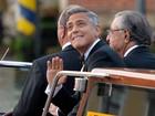 George Clooney se casa em Veneza cercado de amigos famosos