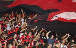 Torcida Flamengo x Leon (Foto: EFE)