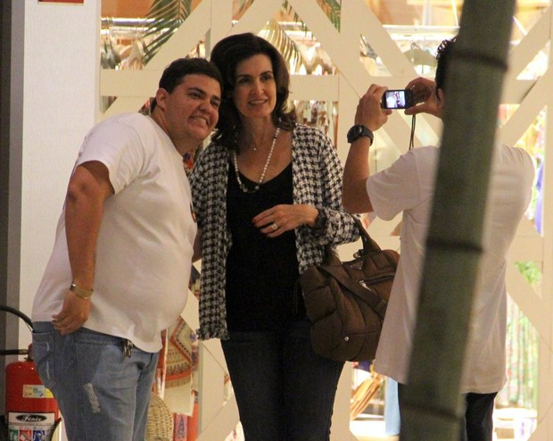 Fátima Bernardes (Foto: Marcus Pavão/Agnews)