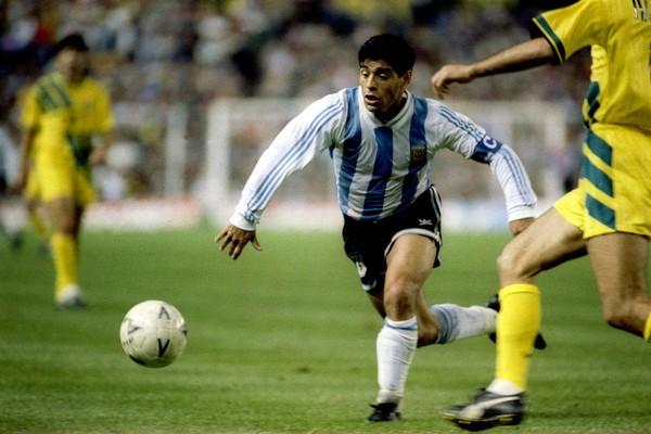 O ex-jogador de futebol Diego Maradonna (Foto: Getty Images)