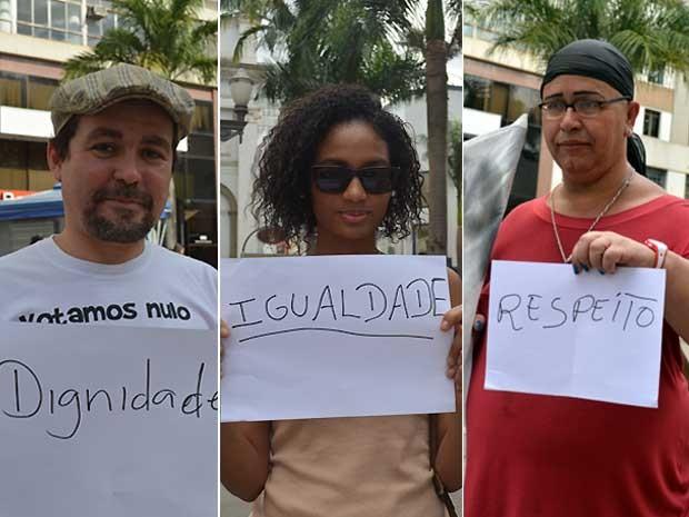 Idílio Cândido, Stephanie Ribeiro e Esther Pereira (Foto: Anaísa Catucci/ G1 Campinas)