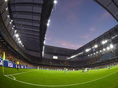 estádio Arena da Baixada jogo Irã x Nigéria (Foto: Getty Images)