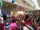 Bloquinho agita crianças em shopping  (Kedma Ferr/TV Sergipe)