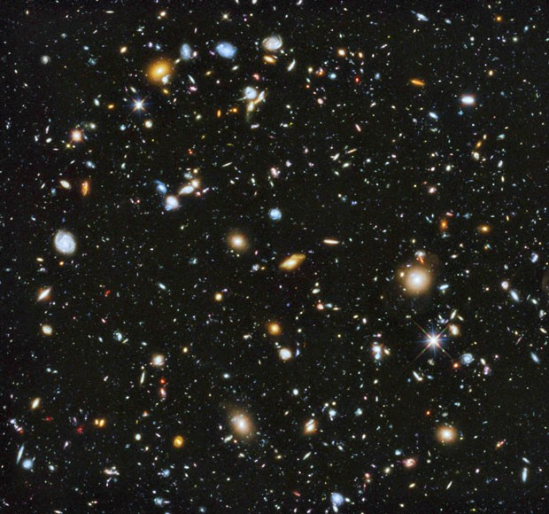 Imagem revelada pela Nasa a partir de capturas feitas pelo telescópio Hubblle (Foto: Nasa/Reuters)