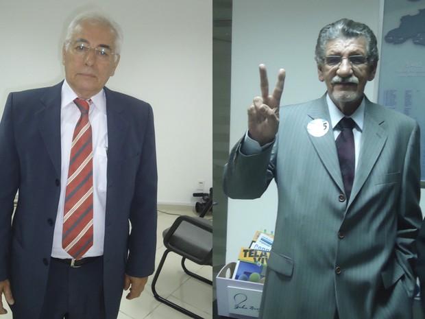 Candidatos de Vitória da Conquista (Foto: Rayne Moitinho/G1)