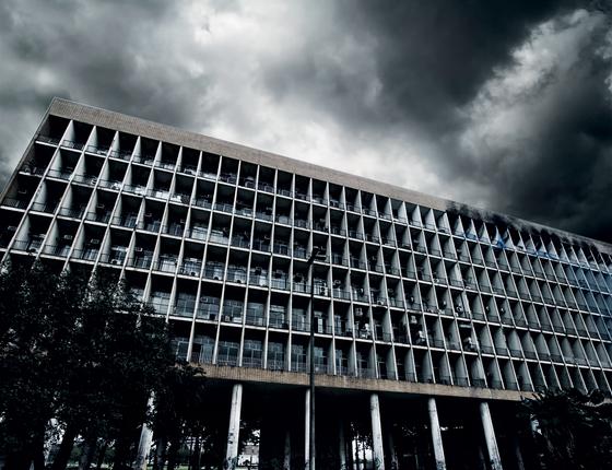 Prédio da Universidade Federal do Rio de Janeiro (UFRJ). (Foto: Jose lucena/Futura Press)