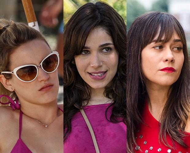 Tons de rosa, vermelho ficam lindos, mas o gloss volta com tudo neste verão (Foto: Gshow/TVGlobo)