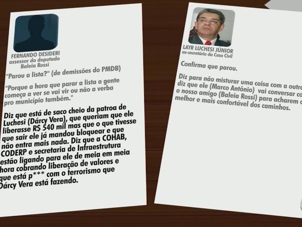 Ligação entre Luchsei Junior e Desideri foi interceptada pela PF em 22 de julho (Foto: Reprodução/EPTV)