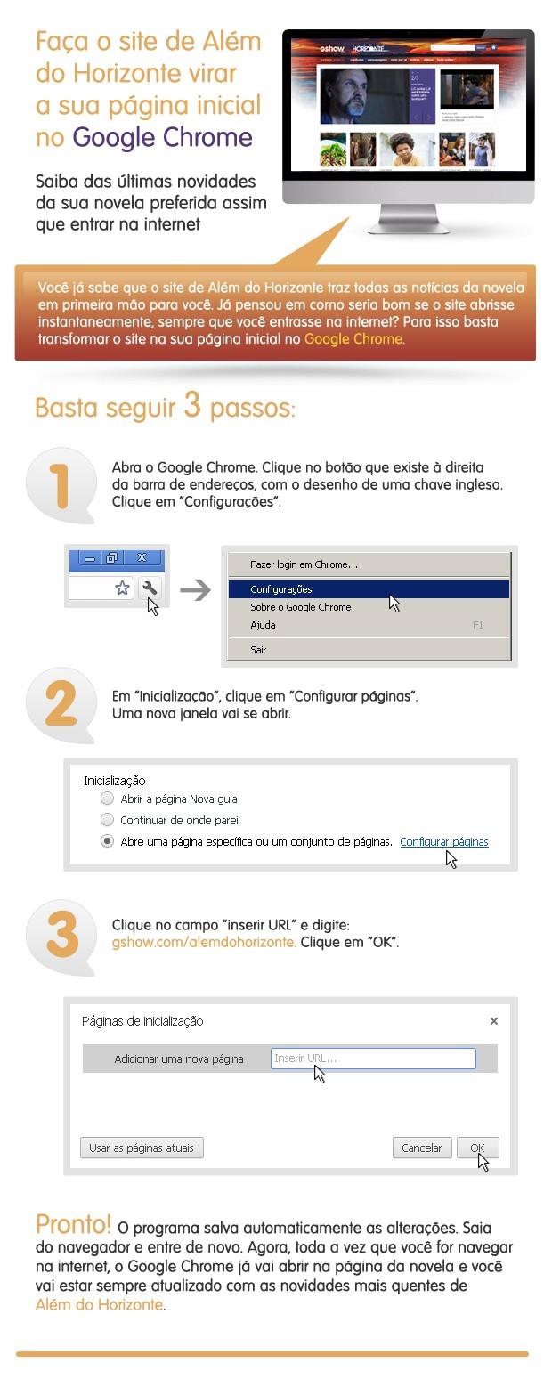 Chrome (Foto: Além do Horizonte/TV Globo)