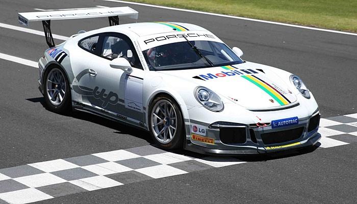 Emerson Fittipaldi Porsche GT3 Cup