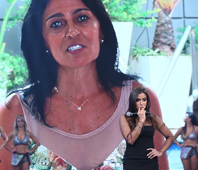 Mãe de Anitta contou história de concurso na época do colégio (Foto: Carol Caminha/Gshow)