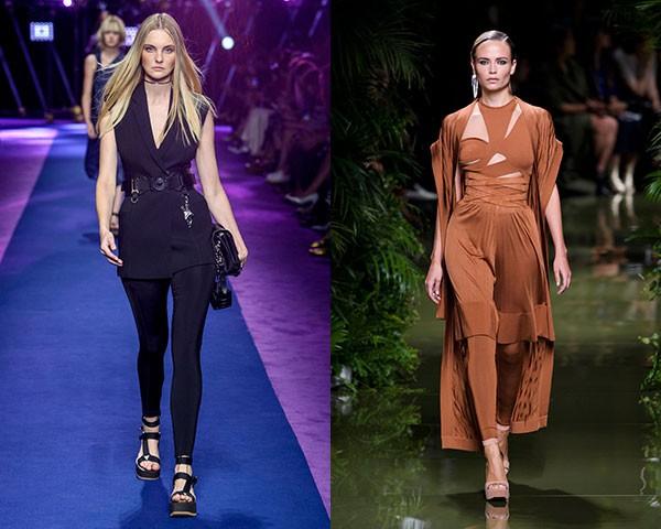 Versace e Balmain (Foto: Imaxtree)